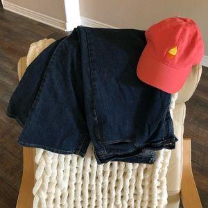 "🌟 Old Navy 14 Short ""The Flirt"" Dark Denim Jeans"